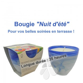 "Bougie bio Grand Stéarôme bio ""Nuit d'été"""