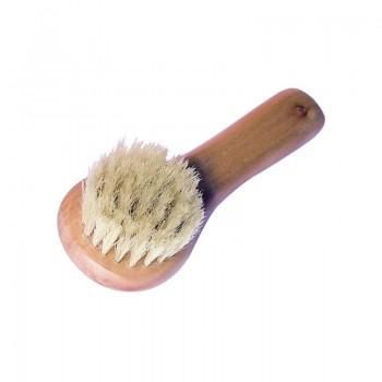 Brosse pour le visage en soies naturelles