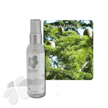 Déodorant bio Homme eau florale de Cyprès