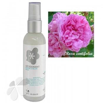 Déodorant Pierre d'Alun Eau florale de Rose pour femme