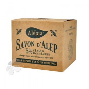 Savon d'Alep 5% d'huile de baies de laurier