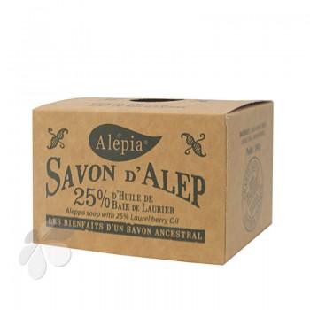 Véritable Savon d'Alep 25 % d'uile de baies de Laurier