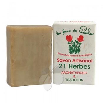 Savon Artisanal 21 Herbes