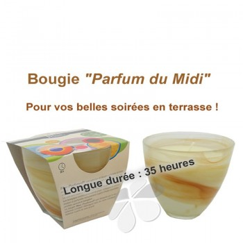 "Bougie Grand Stéarôme ""Parfum du Midi"""