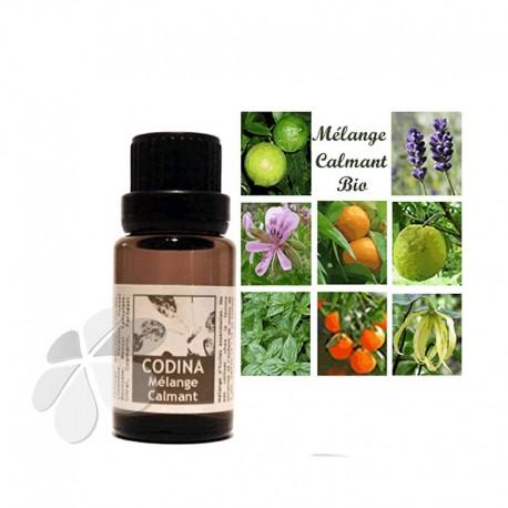 Synergie d'huiles essentielles biologiques - mélange Calmant