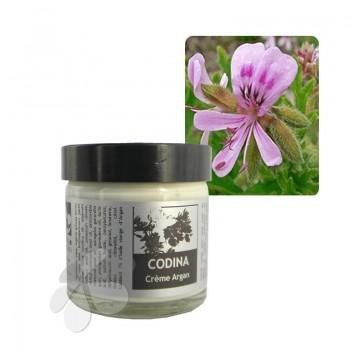 Crème Argan Géranium rosat bio CODINA