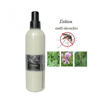 Lotion anti-moustiques à l'huile de Neem