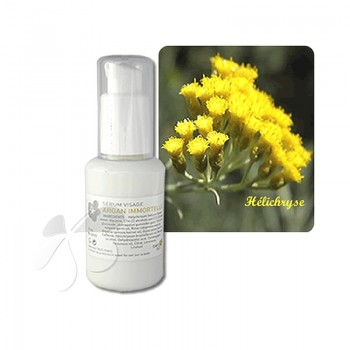 Sérum Visage Bio Argan Immortelle - anti rides