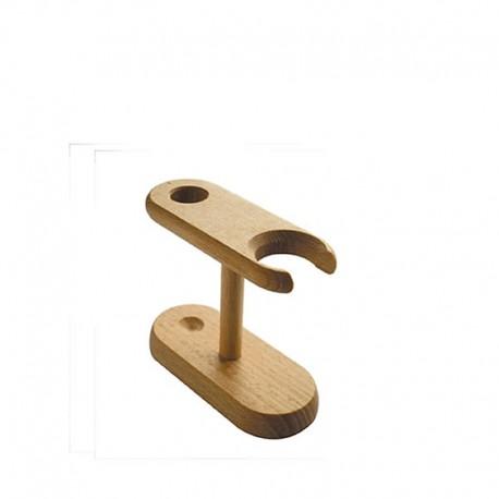 Porte blaireau en bois