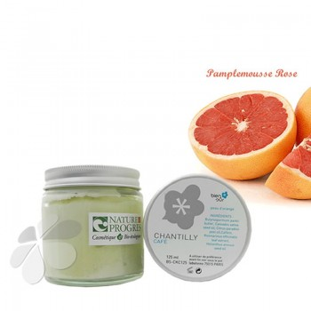 Chantilly Bio Café Pamplemousse - Crème peau d'orange