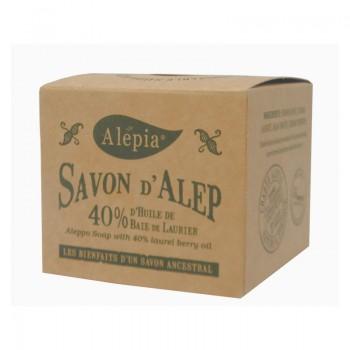 Véritable Savon d'Alep 40% d'huile de baies de Laurier