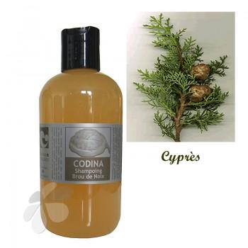 Shampoing liquide bio Brou de Noix pour cheveux châtains