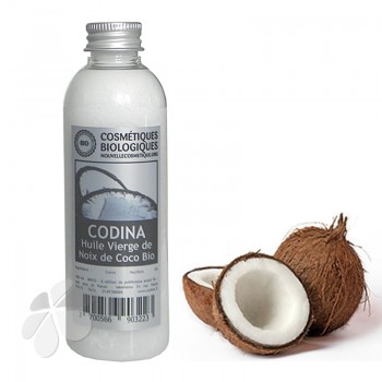 Huile vierge Noix de Coco biologique