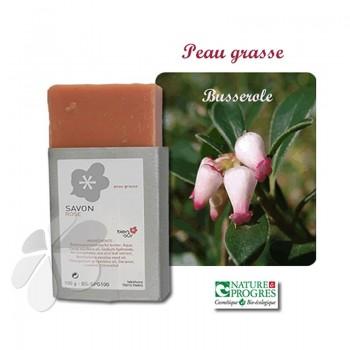 Savon Karité Bio Busserole Géranium Rosat - peau mixte à grasse