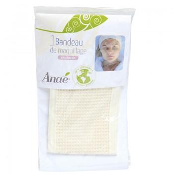 Bandeau de maquillage en coton bio Anaé