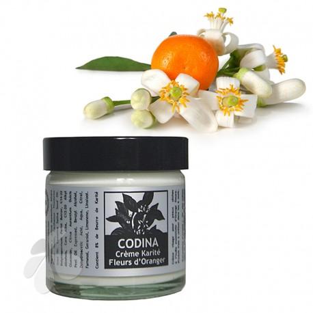 Crème bio Karité Fleurs d'Oranger Codina