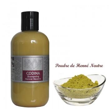 Shampoing liquide bio Henné Neutre pour tous les cheveux