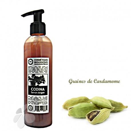 Savon liquide bio Argan Cardamome Codina