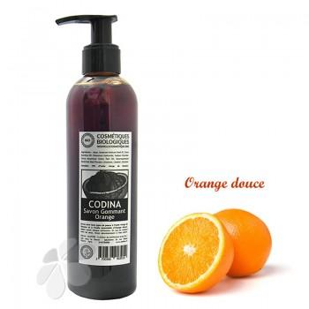 Savon liquide bio Gommant Orange Codina