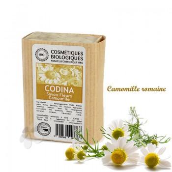 Savon solide bio Fleurs Camomille Codina