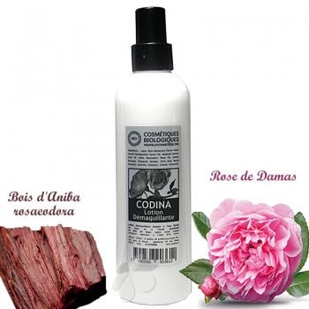 Lotion Démaquillante Bio Galatée à l'eau florale de Rose