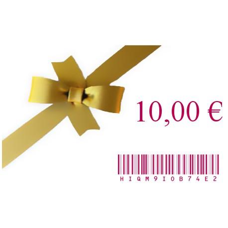 E-Carte Cadeau 10