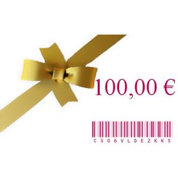 E-Carte Cadeau 15 € 100