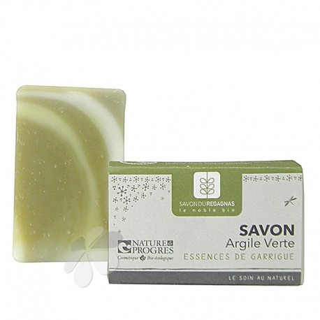 Savon Bio Argile Verte et Essences de Garrigue
