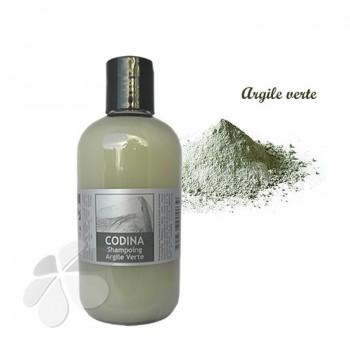 Shampoing liquide à l'argile verte bio - cheveux gras