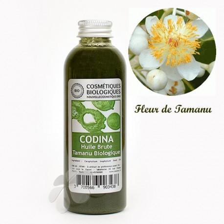 Huile brute Tamanu biologique - problèmes dermatologiques - 100 ml