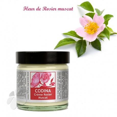 Crème bio Rosier Muscat Codina