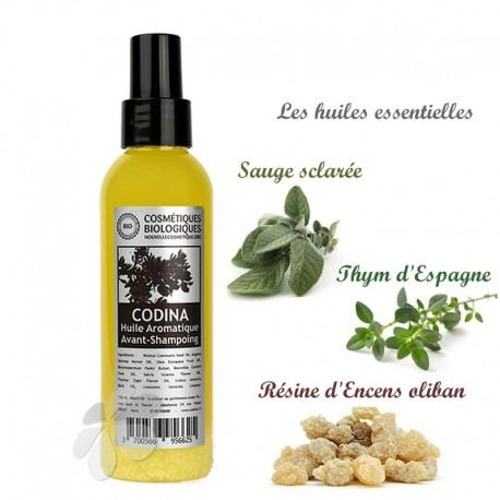 Huile Aromatique Avant-Shampoing 150 ml