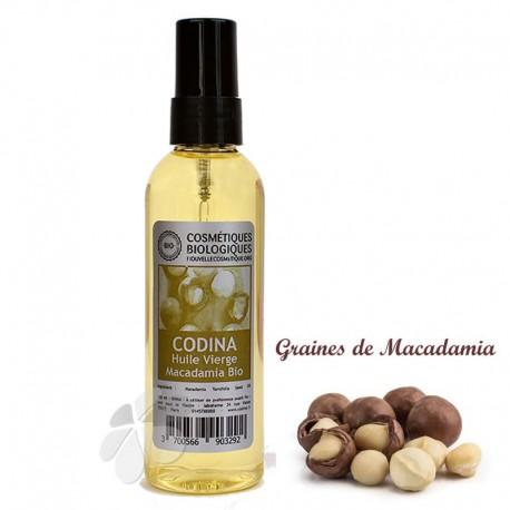 Huile vierge de Macadamia bio
