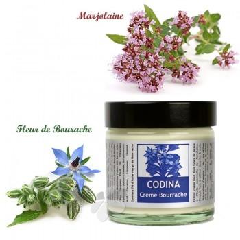 Crème bio Bourrache Marjolaine Codina