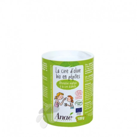 La cire d'olive bio en pépites Anaé - 100 g